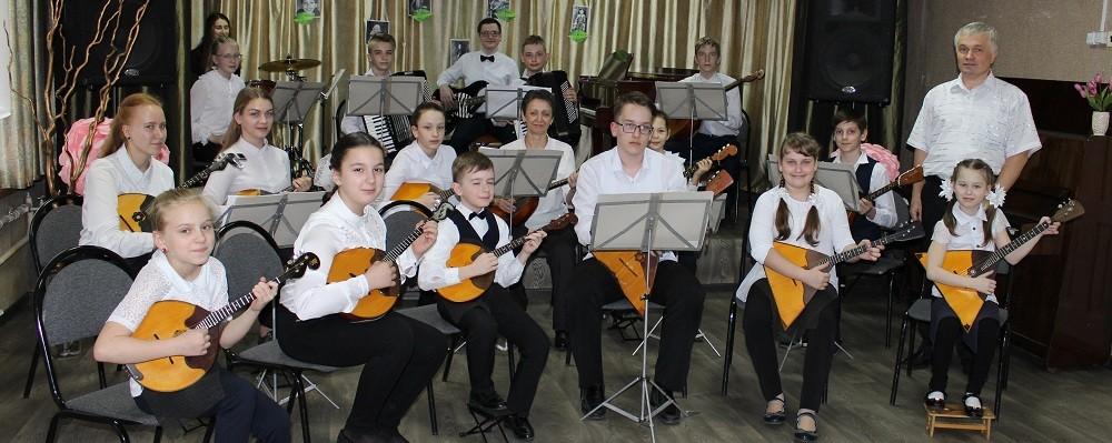 Оркестр народных инструментов, рук. Шпилевой В.А.