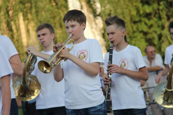 Духовое отделение: валторна, труба, кларнет