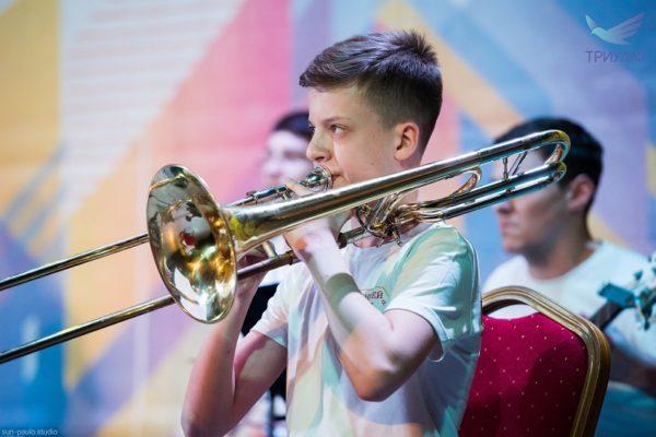 Духовое отделение: тромбон